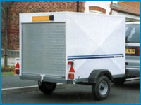 Lightweight Van Trailers
